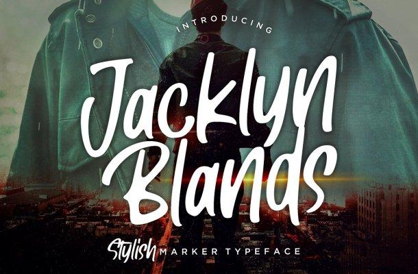Jacklyn Blands Font