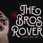 Bros Rover Classic Sans Serif Font