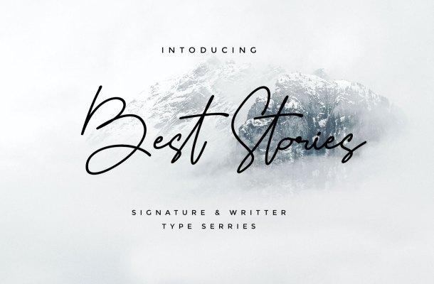 Best Stories Font