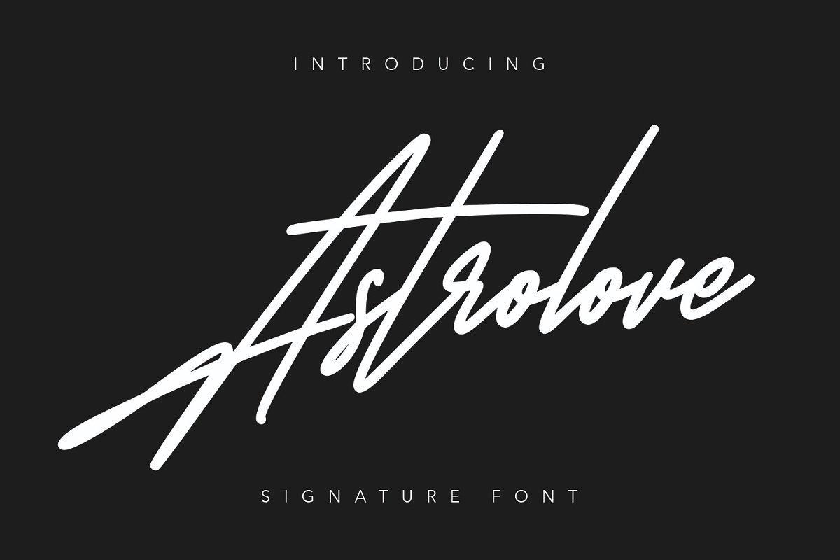 Astrolove-Font