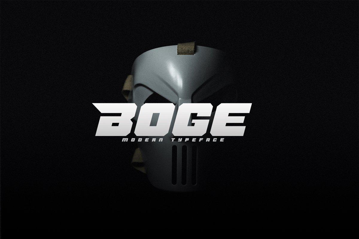 Boge-Font