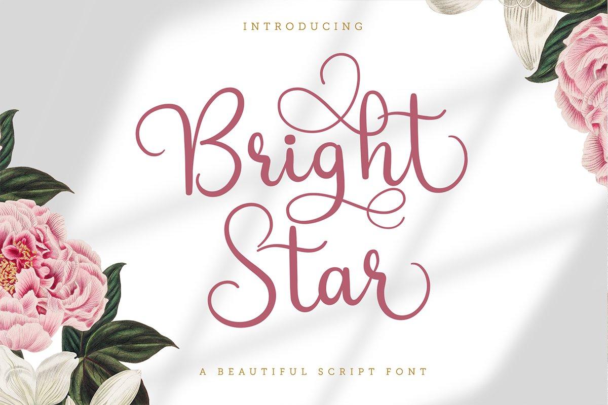 Bright-Star-Font