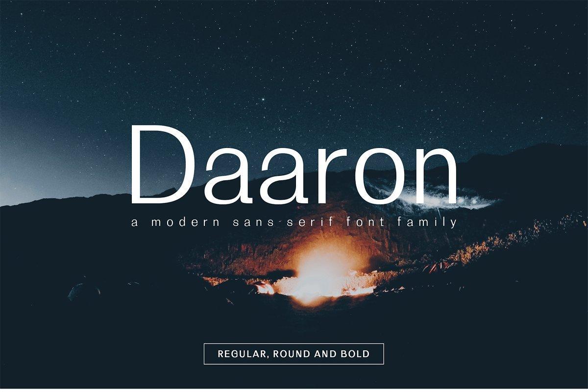 Daaron-Font-Family-1