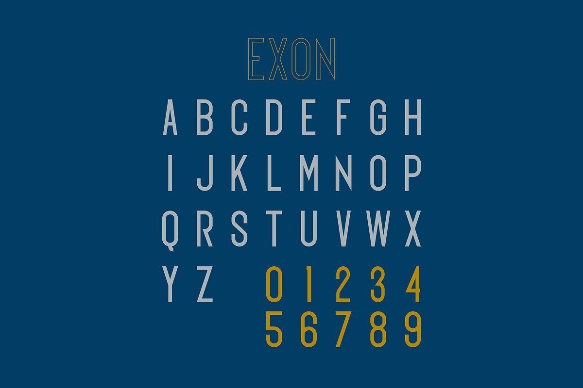 Exon-Font-3