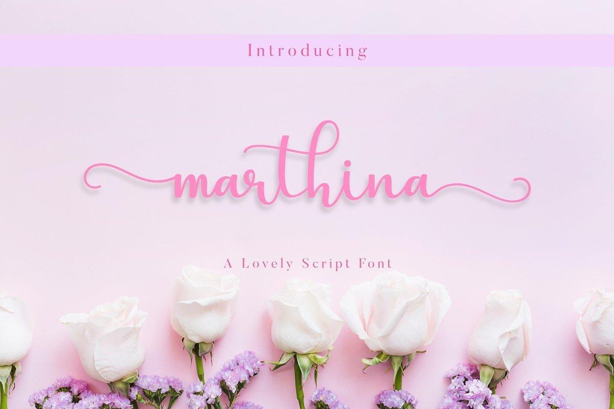 Marthina-Font