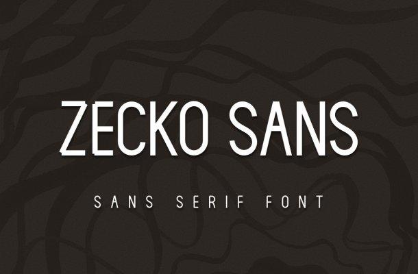 Zecko Font