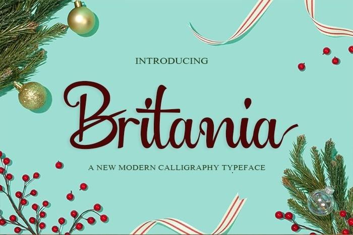 Britania-Font