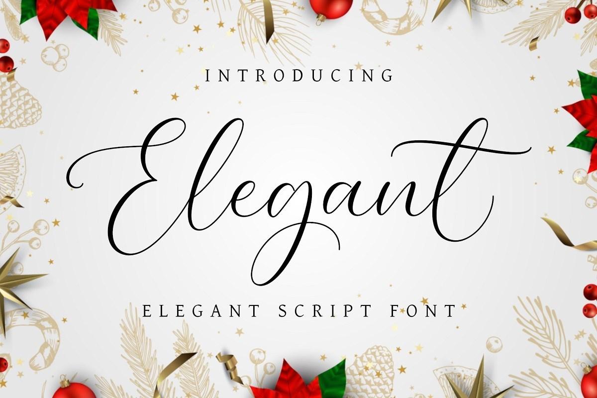 Elegant-Font