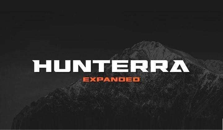 Hunterra-Font