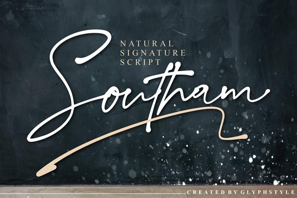 Southam-Font