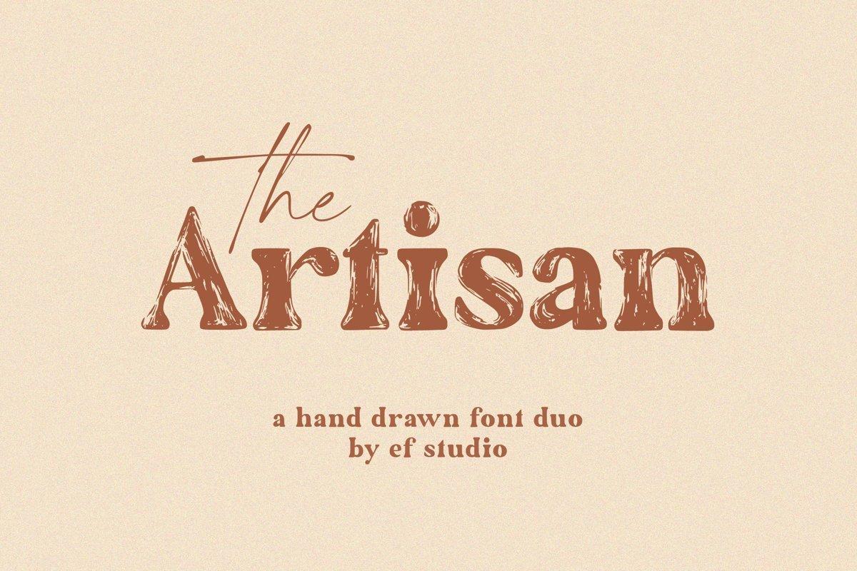 The-Artisan-Font