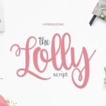 The Lolly Font