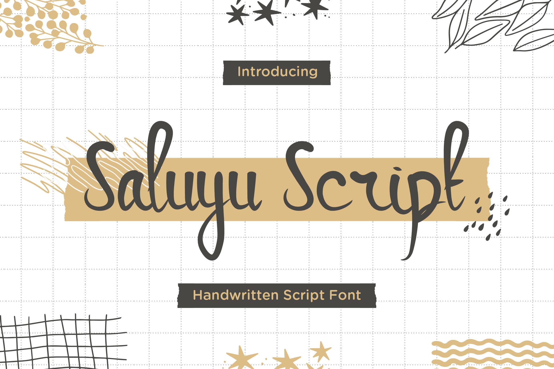 Saluyu-Font