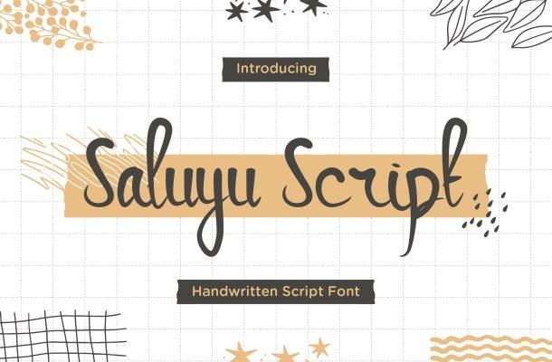 Saluyu Font