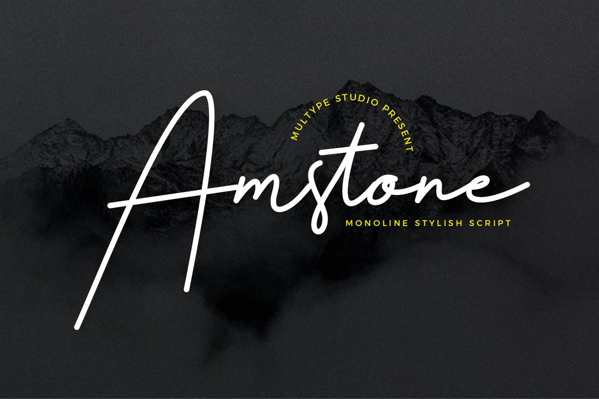 Amstone-Font