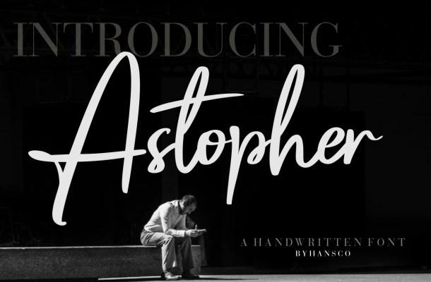 Astopher Font