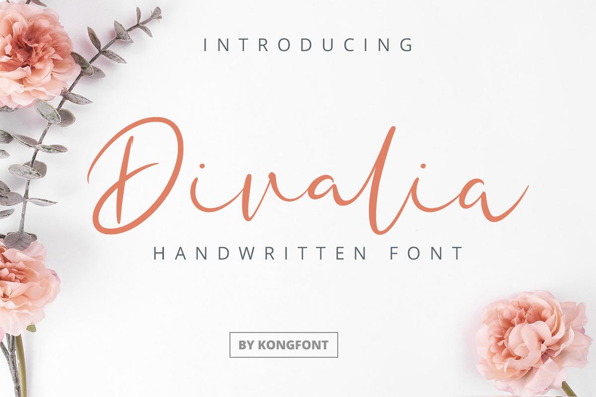 Divalia-Font