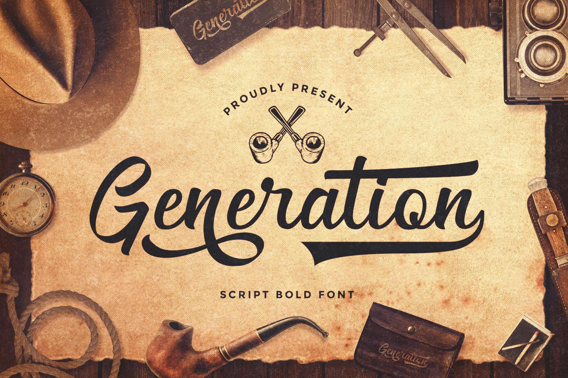 Generation-Font