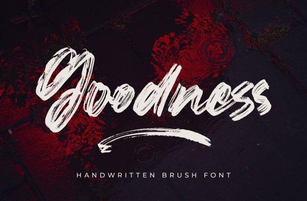 Goodness-Font