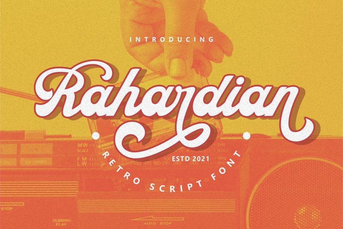 Rahardian-Font