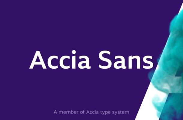 Accia Sans Font