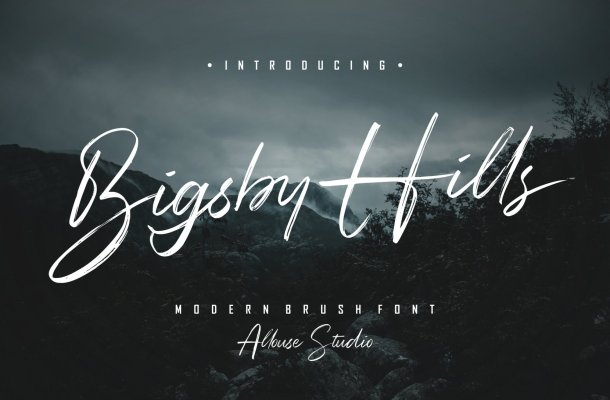 Bigsby-Hills-Font