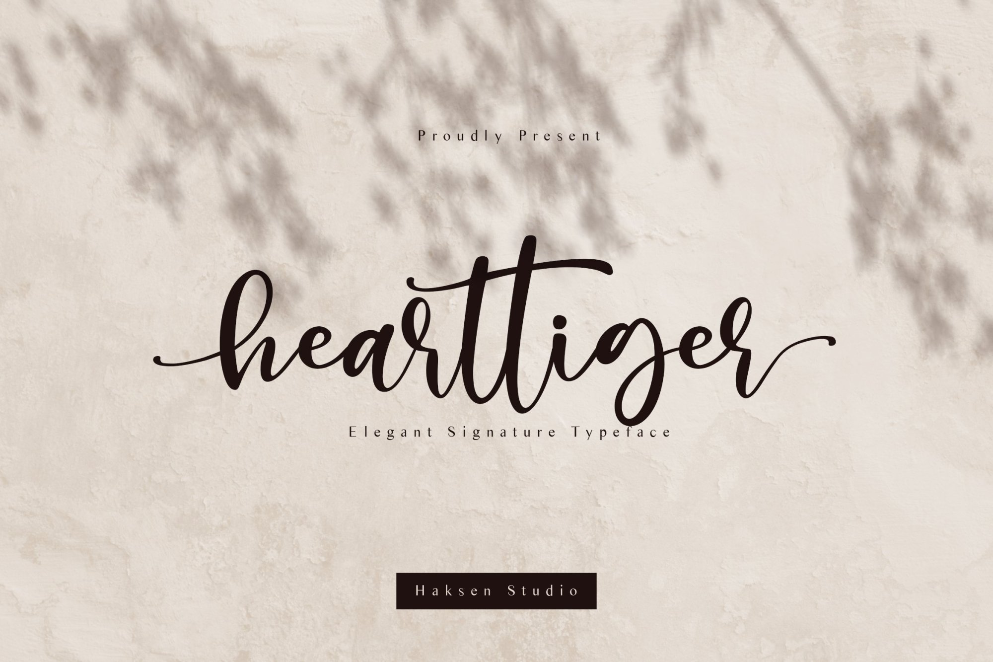 Hearttiger-Font