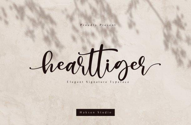 Hearttiger Font