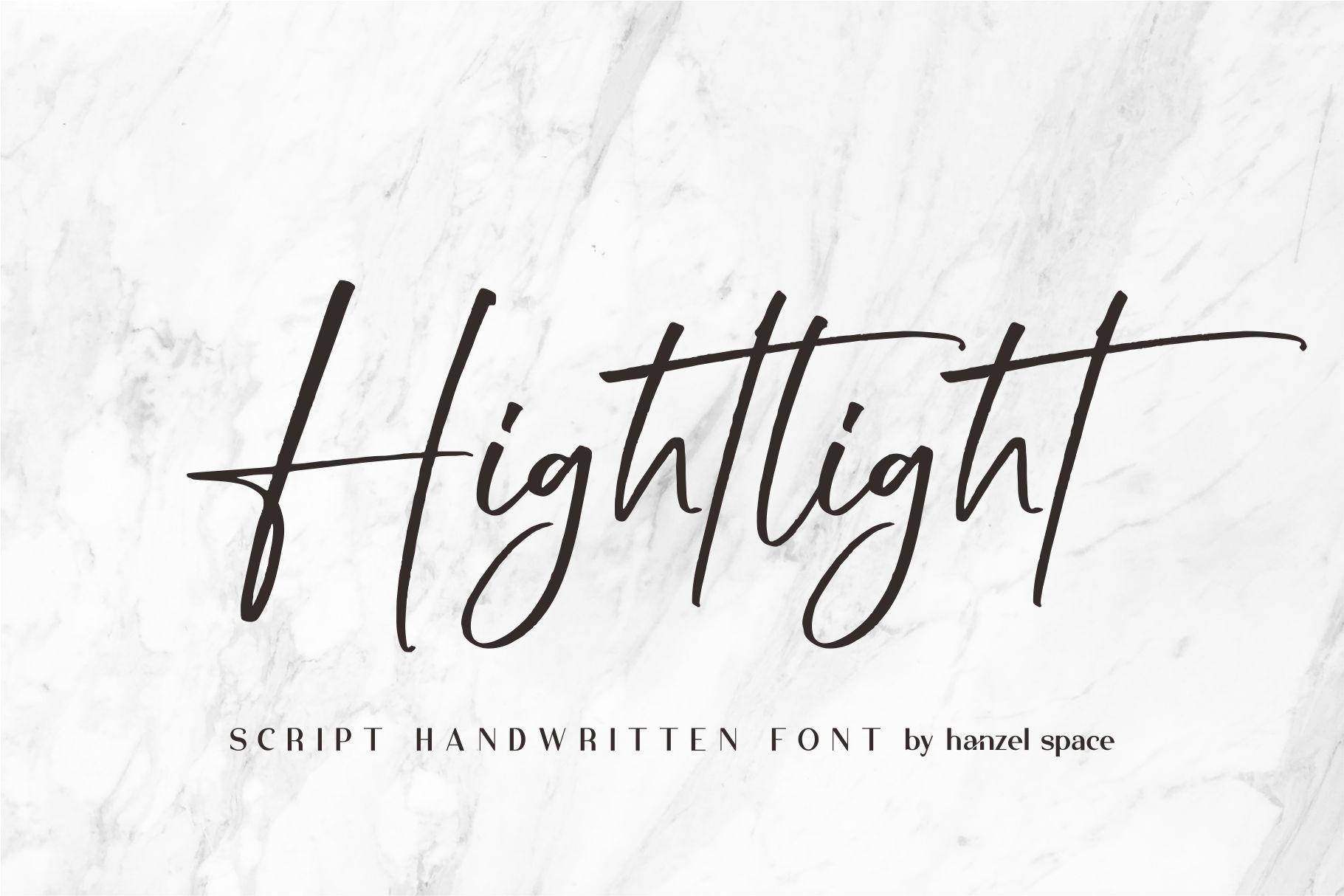 Hightlight-Font