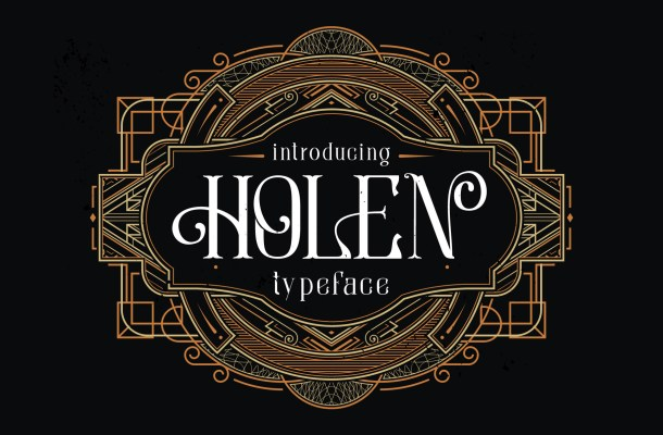 Holen Font