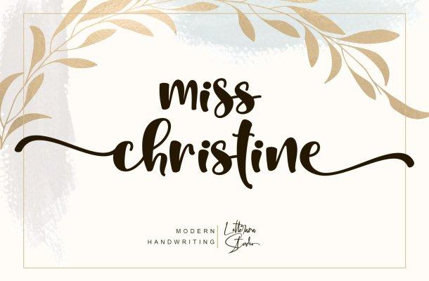 Miss Christine Font