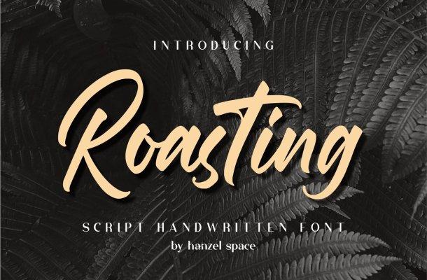 Roasting-Font