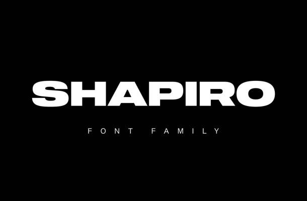 Shapiro Font Family