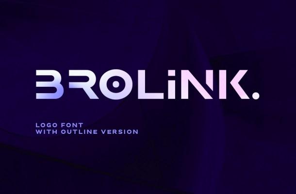 Brolink Font