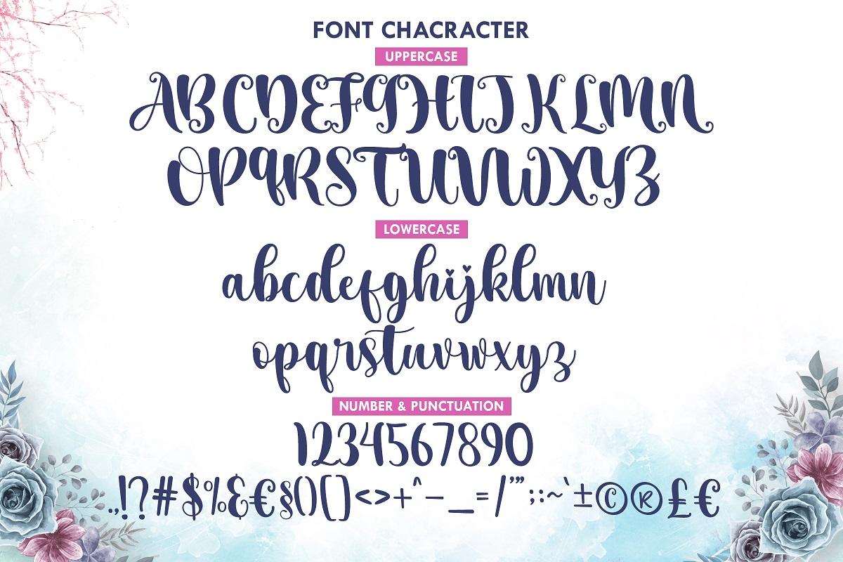 Aesthetic-Midnight-Font-3
