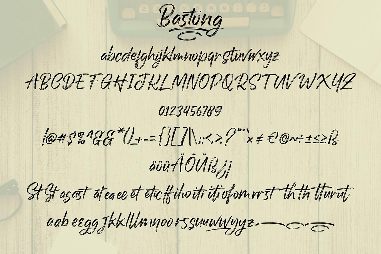 Bastong-Font-3