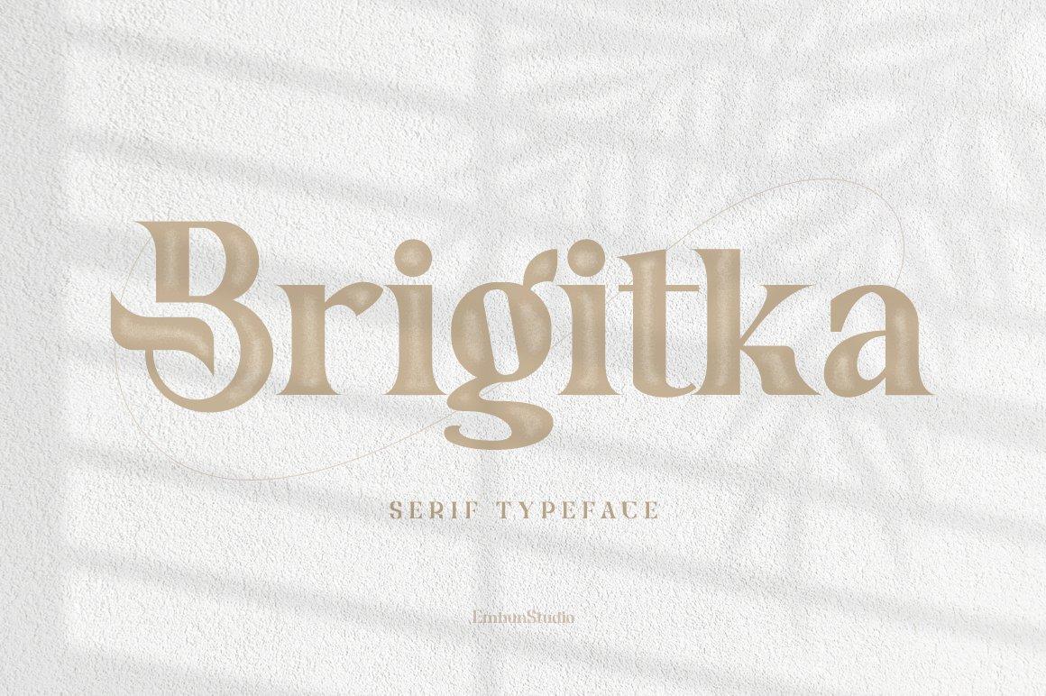 Brigitka-Font