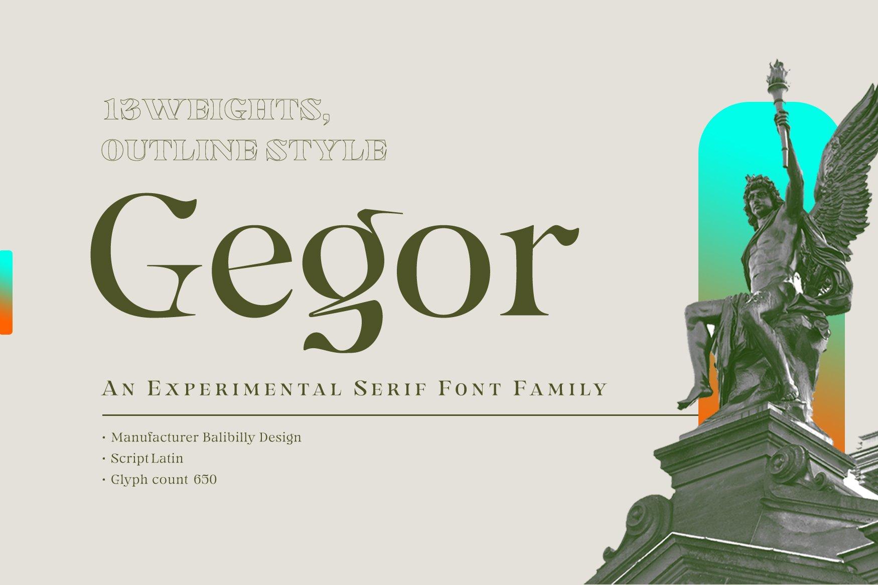 Gegor-Font