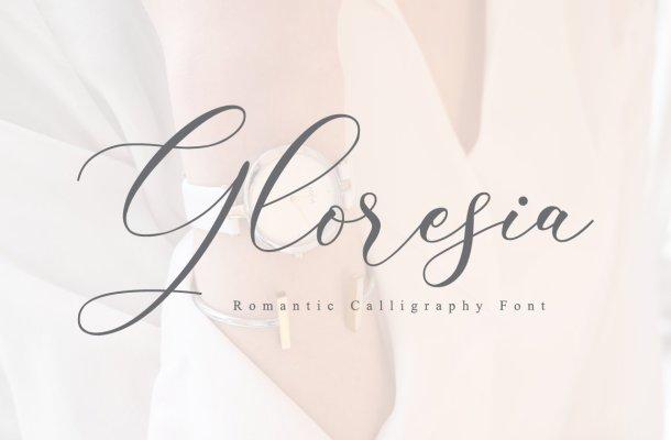 Gloresia Font
