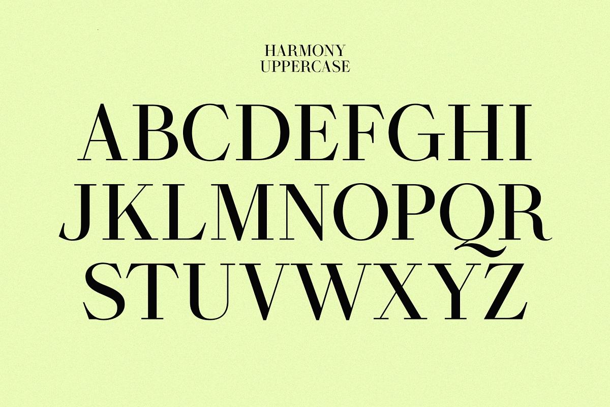 Harmony-Font-2