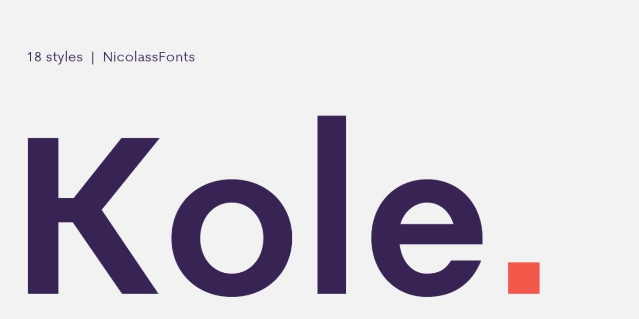 Kole-Font
