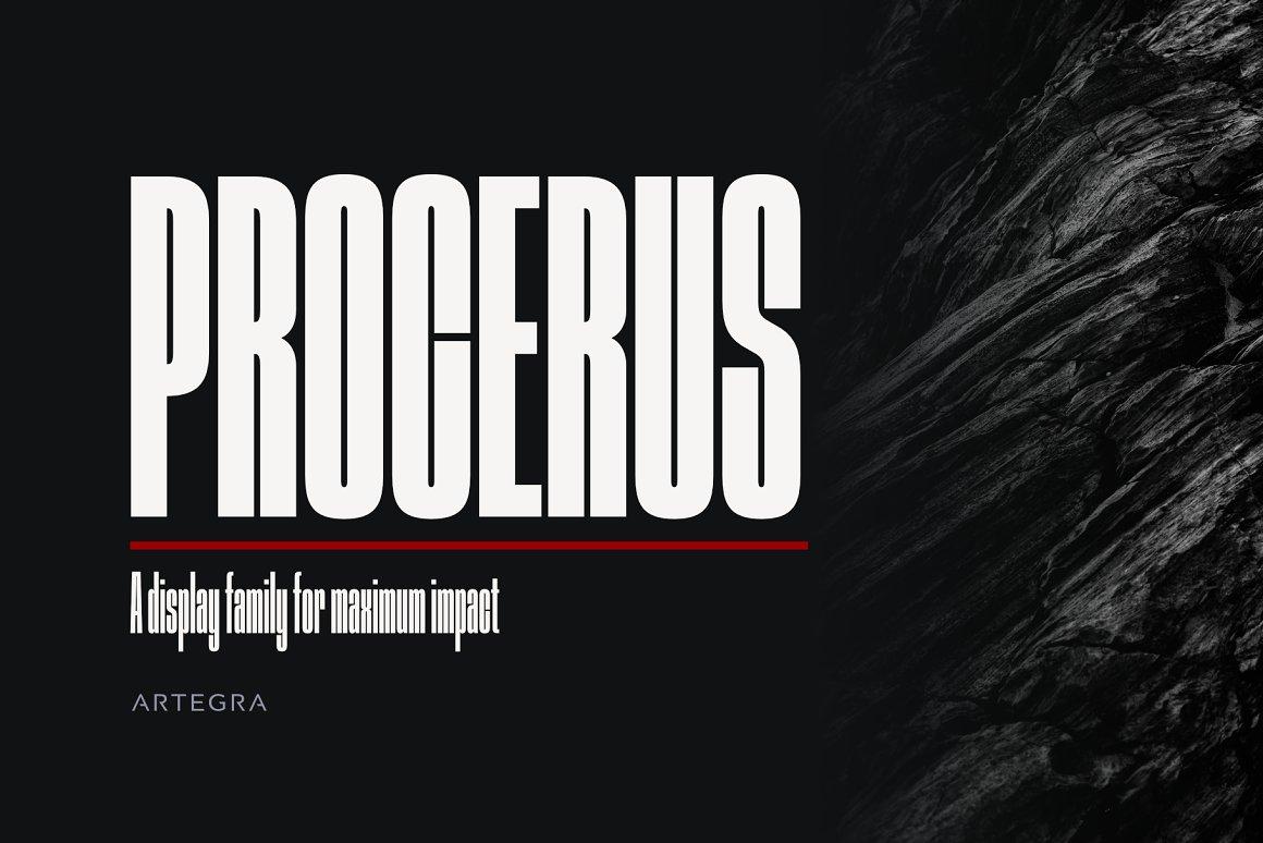 Procerus-Font-Family