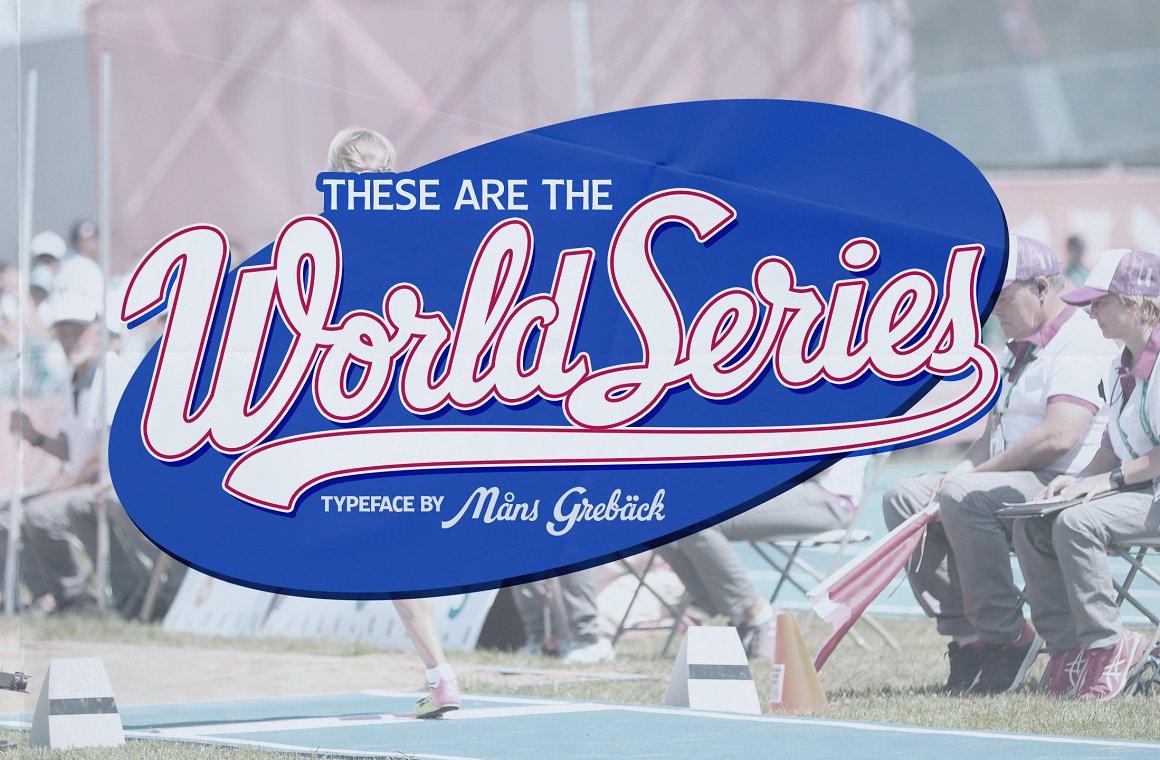 World-Series-Font