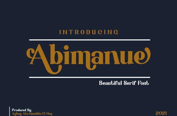Abimanue Font