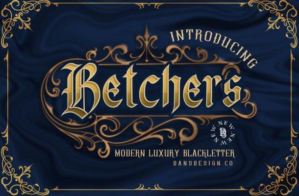 Betchers-Font