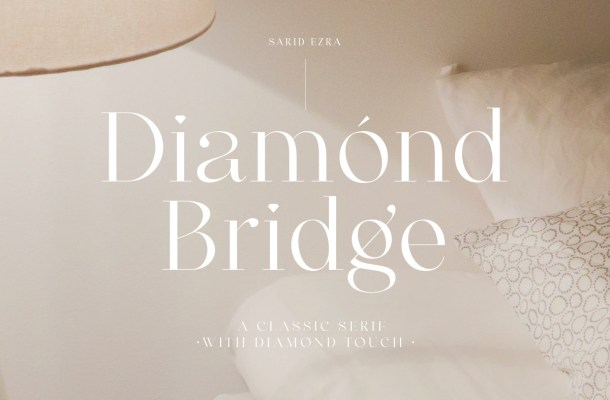 Diamond Bridge Font