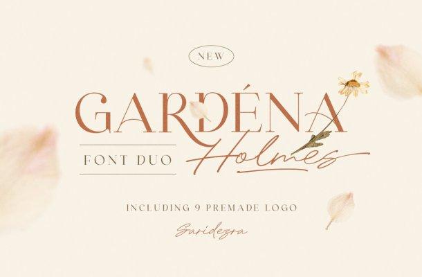 Gardena Holmes Font Duo