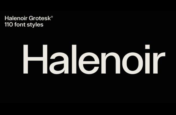 Halenoir Font Family