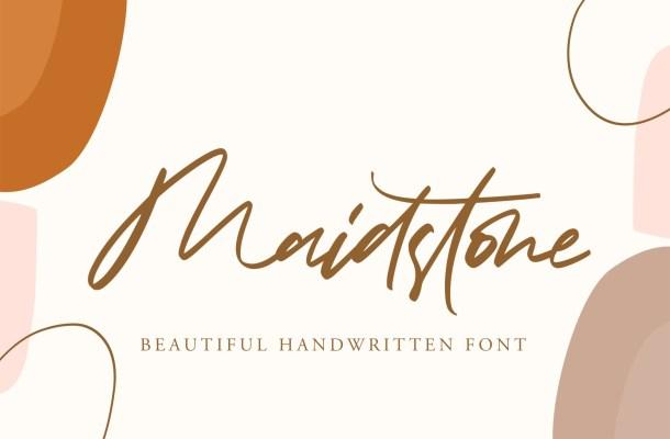 Maidstone Font