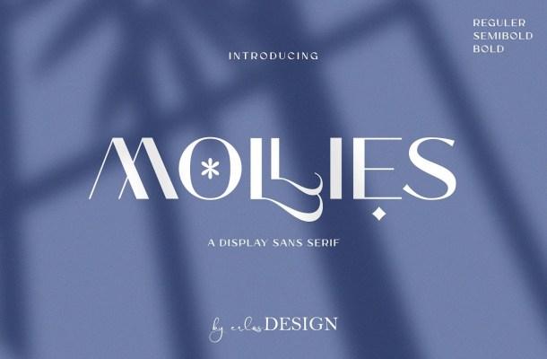 Mollies Font